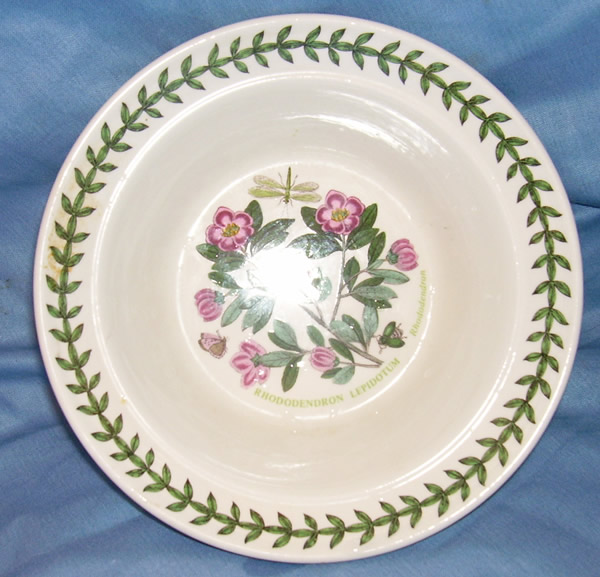 Portmeirion Rhododendron plate